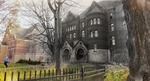 [Untitled image of Old Main and DeWitt Wallace Library] by Muyuan He