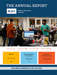 Annual Report - DeWitt Wallace Library