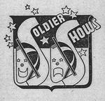 Figure 00.03. Masks of comedy and tragedy. Soldier Shows logo, 1943.