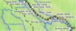 Figure 02.02. Thailand Railway Map #1: Ban Pong—Malayan Hamlet.