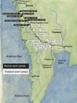 Figure 02.001. Map of the Thailand-Burma railway.