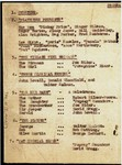 """Figure 09.05a. Playbill for """"A New Revue,"""" page 1."""