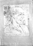 Figure 10.03. Norman Pritchard. Sketch by Jan van Holthe.