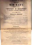 """Figure 11.15. Program for """"Mystery in Budapest."""""""