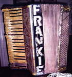 Figure 11.20. Frankie Quinton's accordion.