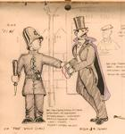 "Figure 12.33. ""The Lights of London"" setting. Costume plot detail."