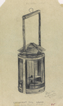 Figure 12.38. Camp-made coconut oil reflector lamp.