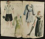 Figure 12.51. Renderings for women's outfits.