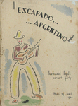 Figure 9.8. Souvenir Program for Escapado Argentino by Norman Pritchard