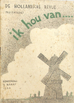 Figure 9.5. Souvenir Program for ik hou van . . . by Norman Pritchard