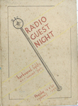 Figure 9.3. Souvenir Program for Radio Guest Night by Norman Pritchard