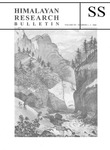 Himalayan Research Bulletin, Volume 20, Number 1/2